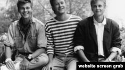¿Los recuerdan? Ellos son los noruegos de A-ha, Paul Waaktaar-Savoy (guitarras), Magne Furuholmen (teclados, guitarras) y Morten Harket (voces). Foto de Getty images.