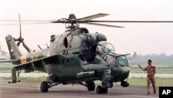 قرار بود ایالات متحده برای قوای هوایی افغانستان از روسیه هیلیکوپتر خریداری کند.
