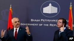 Arkiv: Nga vizita e kryeministrit shqiptar Edi Rama në Beograd në nëntor të vitit 2014