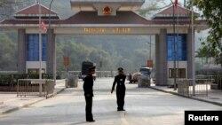 Cửa khẩu Thanh Thủy, cách thành phố Hà Giang 22km về phía Tây Bắc, đối diện với cửa khẩu Thiên Bảo, tỉnh Vân Nam, Trung Quốc.