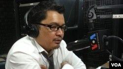 Ông Ou Virak, người đứng đầu Trung tâm Nhân quyền Campuchia ở Phnom Penh.