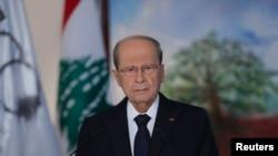 لبنان کے صدر میشال عون (فائل فوٹو)