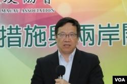 台湾工业技术研究院产经中心副主任张超群 (美国之音记者杨明拍摄)