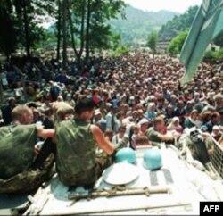 Izbeglice iz Srebrenice, 14.jul 1995