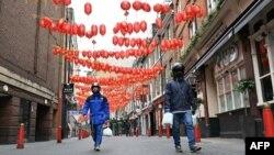 လန္ဒန္ၿမိဳ႕ China Town တေနရာ