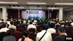 纽约新泽西藏人社区举行市政大会