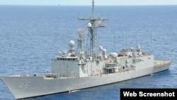 美國對台軍售包括兩艘佩里級護衛艦(資料圖片)