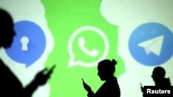 Telegram menjadi aplikasi pesan instan paling populer di kalangan para teroris untuk melakukan aktivitasnya di ruang siber (ilustrasi).