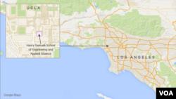 UCLA, in Los Angeles, California