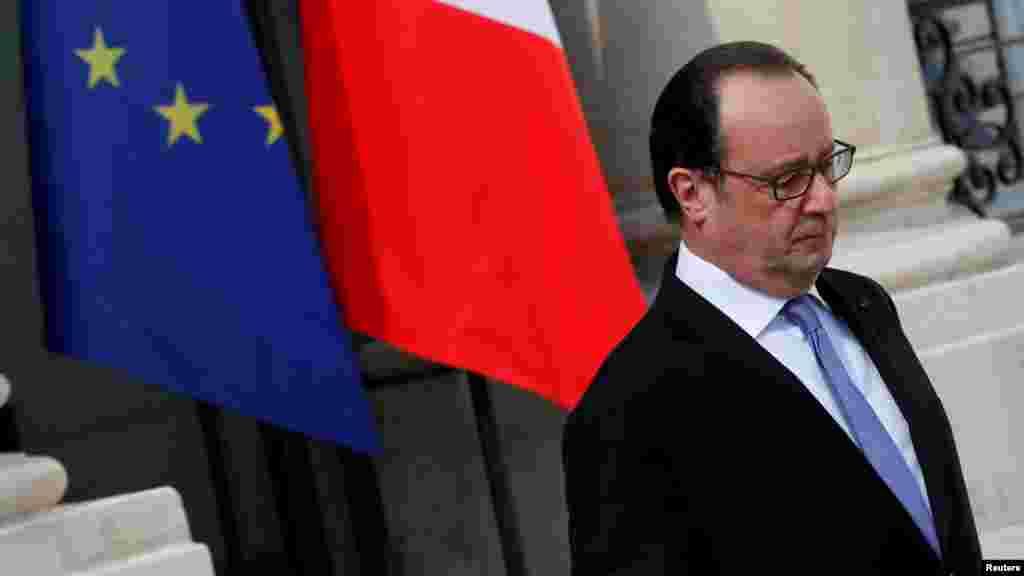 El presidente Hollande dijo que la tragedia era un ataque a la libertad.