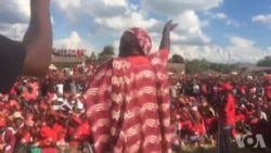 MDC-T Activists Attending Party Rally