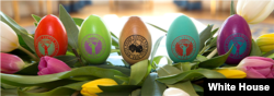 The 2015 souvenir eggs.