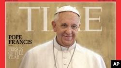 Majalah Time menetapkan Paus Fransiskus sebagai Tokoh Tahun ini dalam edisi yang dirilis hari Rabu (11/12).