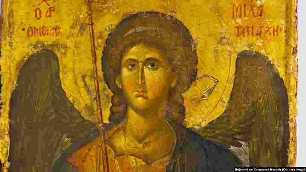Αρχάγγελος Μιχαήλ, εικόνα του 14ου αιώνα