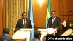 Farmaajo and Hailemariam