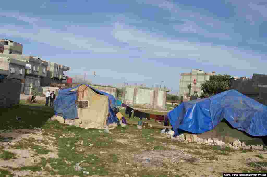 Syrian Dom Refugee Campsite, Şanlıurfa, Turkey