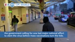 VOA60 World - Britain begins its third coronavirus lockdown