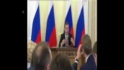俄羅斯總理討論克里米亞發展問題