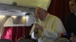 2019-04-01 美國之音視頻新聞: 教宗為拒絕法國樞機主教因捲入性虐待辭職而辯護