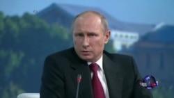 普京保证会承认乌克兰总统选举结果