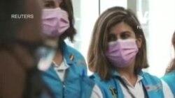 Оркестр зіграв для медсестер центру масової вакцинації у Мадриді. Відео