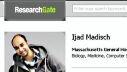 Ijad Madisch's profile on ResearchGate, the social networking website for scientists, which he created