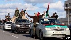 'Yan yakin sa kai a kasar Libiya