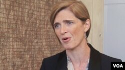 사만사 파워 유엔주재 미국대사.
