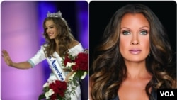 Betty Cantrel Miss America 2016 e Vanessa Williams Miss America 1984