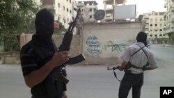 Siirjski pobunjenici u Damasku