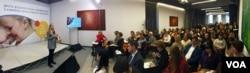 Уляна Супрун на конференції з сімейно орієнтованої медицини