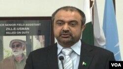 وفاقی وزیر برائے سرحدی امور شوکت اللہ