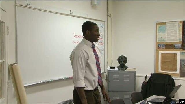 Sadiq Abubakar, originally from Nigeria, came to study at Episcopal High School outside Washington, DC on a special exchange program