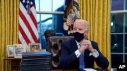 Jedan od Bidenovih prvih poteza u Bijeloj kući bio je preokretanje Trumpove imigrantske politike.