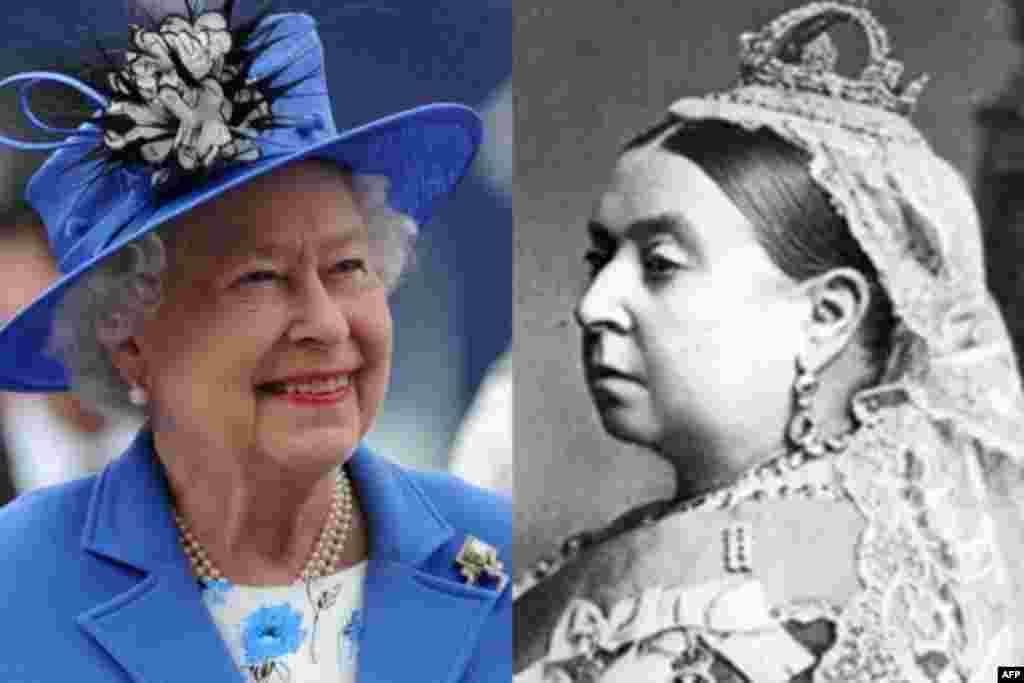 برطانیہ پر طویل ترین بادشاہت کا موجودہ ریکارڈ ان سے تین نسلوں پہلے ان کی پردادی ملکہ وکٹوریہ کو حاصل تھا۔