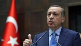 Turkey's Prime Minister Recep Tayyip Erdogan (2013 photo)