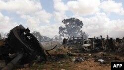 Napad francuskih snaga na Libiju