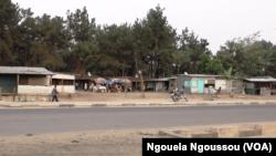 Camp des réfugiés rwandais à Kintele au nord de Brazzaville, le 29 septembre 2017 (VOA/ Ngouela Ngoussou)