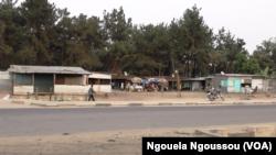 Ikambi y'Impunzi z'Abanyarwanda y'i Kintele mu buraruko bwa Brazzaville (VOA/ Ngouela Ngoussou)
