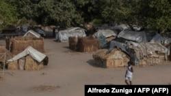 Moçambique, campo de deslocados 25 Junho, Metuge, Cabo Delgado