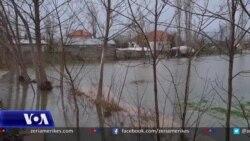 Vazhdojnë përmbytjet në Shkodër, Lezhë dhe Laç