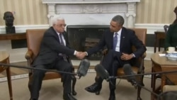 Obama Urges Abbas to Accept Framework For More Talks