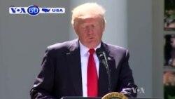 Ông Trump rút Mỹ khỏi Hiệp định Paris
