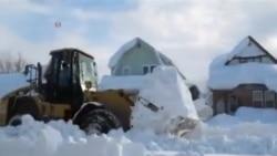 美國紐約州北部大雪剛停憂洪水將至