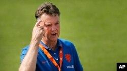 لوئیس ون خال، سرمربی تیم ملی فوتبال هلند