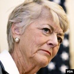 Madam Geraldine Ferraro, ansyèn kandidat pou pòs vis-prezidan Lèzetazini an 1984