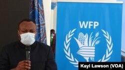 Guy Mesmin Adoua, représentant du PAM pour le Togo à Lomé, 13 novembre 2020. (VOA/Kayi Lawson)