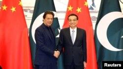 巴基斯坦總理伊姆蘭·汗2019年10月訪問北京。(路透社)