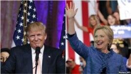 Zgjedhjet paraprake në SHBA: Trump fiton të 5 shtetet, Clinton në 4