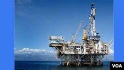 Plataforma de petróleo em Cabinda
